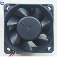 Buy cheap 2.34 inch dc brushless motor 12v / 24v 60mm X 25mm sleeve / ball bearing axial fan for medical / home electronic product