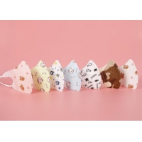 Buy cheap Cute Cotton Disposable Kids Surgical Mask Children N95 With Funny Design product