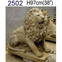 China antique marble lion statue on sale