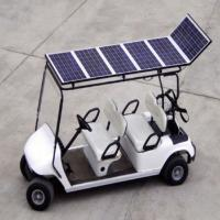 Quality 4 seat Solar golf cart for sale