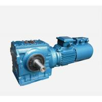 Buy cheap Horizontal Worm Speed Reducer Easy Mounted HBS190 - 240 Housing Hardness product