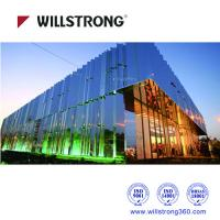 Buy cheap Fireproof Mirror Aluminum Composite Panel Cladding For Buildings 5600mm Length product