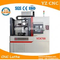 Buy cheap Vertical High Speed High Quality CNC Lathe Turning Machine With Synte controller product