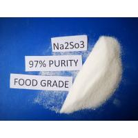 Buy cheap Cas No7757 83 7 Sodium Sulfite Food Grade Na2SO3 97% Purity For Pharmaceutical Industry product