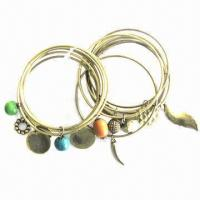 Buy cheap Shackles bracelet set with antique copper plating product