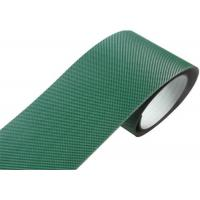 Buy cheap Indoor Pvc Pu Conveyor Belt , Green Corrugator Belt With Steel Clipper Joint product
