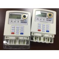 Buy cheap Dual Source Generator Prepaid Electricity Meters Grid Single Phase With Vending from wholesalers