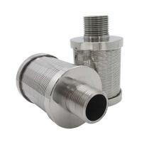 Buy cheap Typical SS Wedge Wire Filter nozzles For Sugar Industry from wholesalers