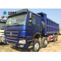Buy cheap Euro 2 371HP Heavy Load Truck 8x4 12 Tyre Front Lifting HOWO Tipper Truck product