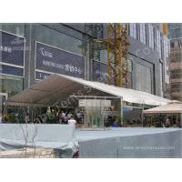 Buy cheap 50 Seater Clear Span Fabric Structures Reusable Sunshade Shelter 6X15M product