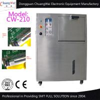 Buy cheap Pneumatic PCB Auto smt cleaning equipment Clean Misprint Solder Paste 3 Filter System product