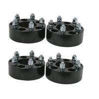 """2"""" 50mm 5x114.3 5x4.5"""" Hubcentric Black Wheel Spacers Mustang GT500 Shelby Cobra SVT GT 2.0"""""""