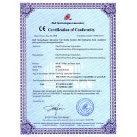 Protech Mechanical Equipment Engineering Limited Certifications