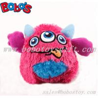 Buy cheap 4 Cute pink color stuffed pet toy with squeaker for puppy and dog product