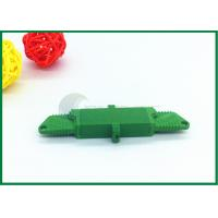 Buy cheap APC Fibre Optic Cable Connectors Green With Low Insertion Loss E2000 Fiber Connector product