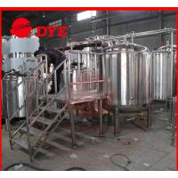 Buy cheap 200L Barley Mini Commercial Beer Brewing Equipment Direct-Fire Heating product
