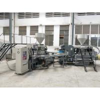 Football Shoes Sole Injection Moulding Machine, Shoe Sole Making Machine 150-180 Pairs / Hour