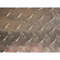 China 3T - 304 2B finish Stainless Steel checker Plate with Mill Edge Or Slit Edge on sale
