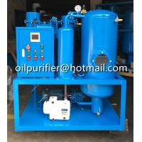 Buy cheap Used Turbine Oil Flushing and Filtration System , Vacuum Lube Turbine Oil Polishing System, oil purifer dehydrator product