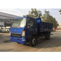 Buy cheap Construction Heavy Duty Dump Truck 4×2 Tipper For Transporting Loose Material product