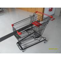 Buy cheap 125L Supermarket Shopping Trolley With 4 Swivel Flat Casters 941 x 562 x 1001mm product