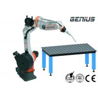 Buy cheap Digital MIG Welding Manipulator , Arc Welding Table With Positioner Automatic Alarm product