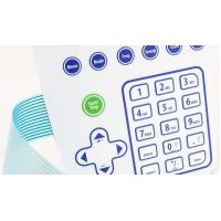 China Tactile Embossed Buttons with Metal Domes membrane Switch  LTMS0020 on sale