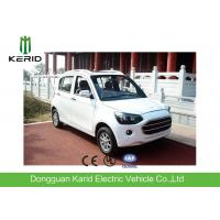 Buy cheap Morden Style Comfort Pure Electric City Car , Long Range Electric Powered Cars product