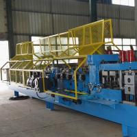 Buy cheap Customized Steel Z Purlin Roll Forming Machine PLC Control High Performance product