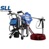 Buy cheap Industrial Cement Plaster Mortar Spraying Machine Diaphragm Airless Putty Sprayer product