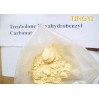 Buy cheap Yellow Crystalline Trenbolone Hexahydrobenzyl Carbonate Powder Injectable CAS from wholesalers