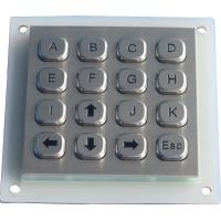 China Metal dot matrix keypad on sale