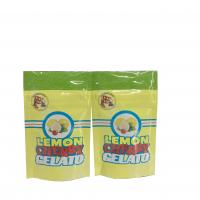 Buy cheap biodegradable smell proof Lemon Cherry Gelato plastic packaging bag product