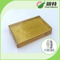 Buy cheap PSA  Tape For Paper Label , Yellow And Transparent Block hotmelt adhesive glue product