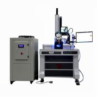Buy cheap 400W 600W Automatic fiber laser welding machine for shower head square and round from wholesalers