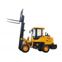 Buy cheap Rough Terrain Forklift Loader  Model 920FL 2.5-3.0 Ton Color Customized product