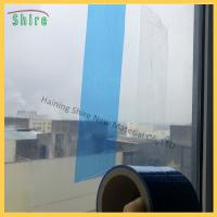 Buy cheap Decoration Disposable Blue Window Glass Protection Cover Film product