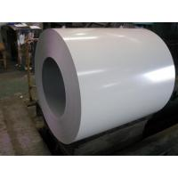 Buy cheap PE Resin Color Coated Galvanized Steel Coil 25um 2/1 layers PPGL Coil from Wholesalers