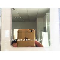 Buy cheap Laser Cutting 316 Stainless Steel Sheet Customized 8K Mirror Finish Surface from wholesalers