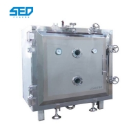 Buy cheap Fruit Vacuum 8pcs Tray Freeze Dry Machine For Food Vegetables from wholesalers