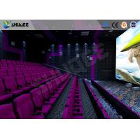 Quality 3D Glasses / 3D Film Movie Theater Seats Environment Effect Vibration Cinema Chairs for sale