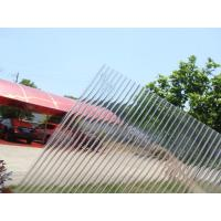 Buy cheap Transparent Polycarbonate Sheet Hollow Twin Wall product