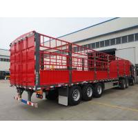 Buy cheap Axles Pig Transport Horse Carriage China Supplier Fence Semi Trailer Cargo Trailer product