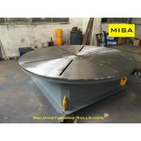 China 3 Jaws Chuck Welding Positioner Turntable 1200mm Diameter 2000kg Loading Capacity on sale