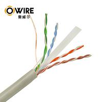 Buy cheap Custom Bulk Cat6 Patch Cables , 305m 23awg Pass Fluke Test Ethernet Lan Cable Cat6 product