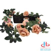 Buy cheap Decoration Handmade Silk Flowers Artificial Rose Wedding Real Touch product