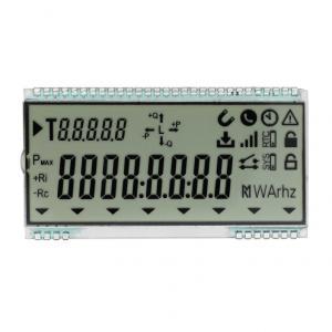 China 5 Digit Seven Segment Backlight TN LCD Display Transmissive Positive Type on sale