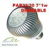 Buy cheap LED PAR Lamp / Spot Light Fxpar  (20-B 7W) product