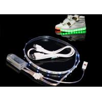 Buy cheap 450MA LED Light Strips For Shoes , Usb Powered Rgb Led Strip Rechargeable product