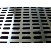 Buy cheap PVC Coated Slotted Stainless Steel Sheet Extremely Versatile For Wall Decoration product